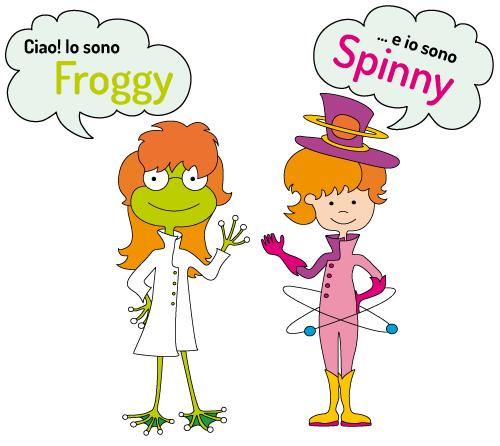 Froggy e Spinny